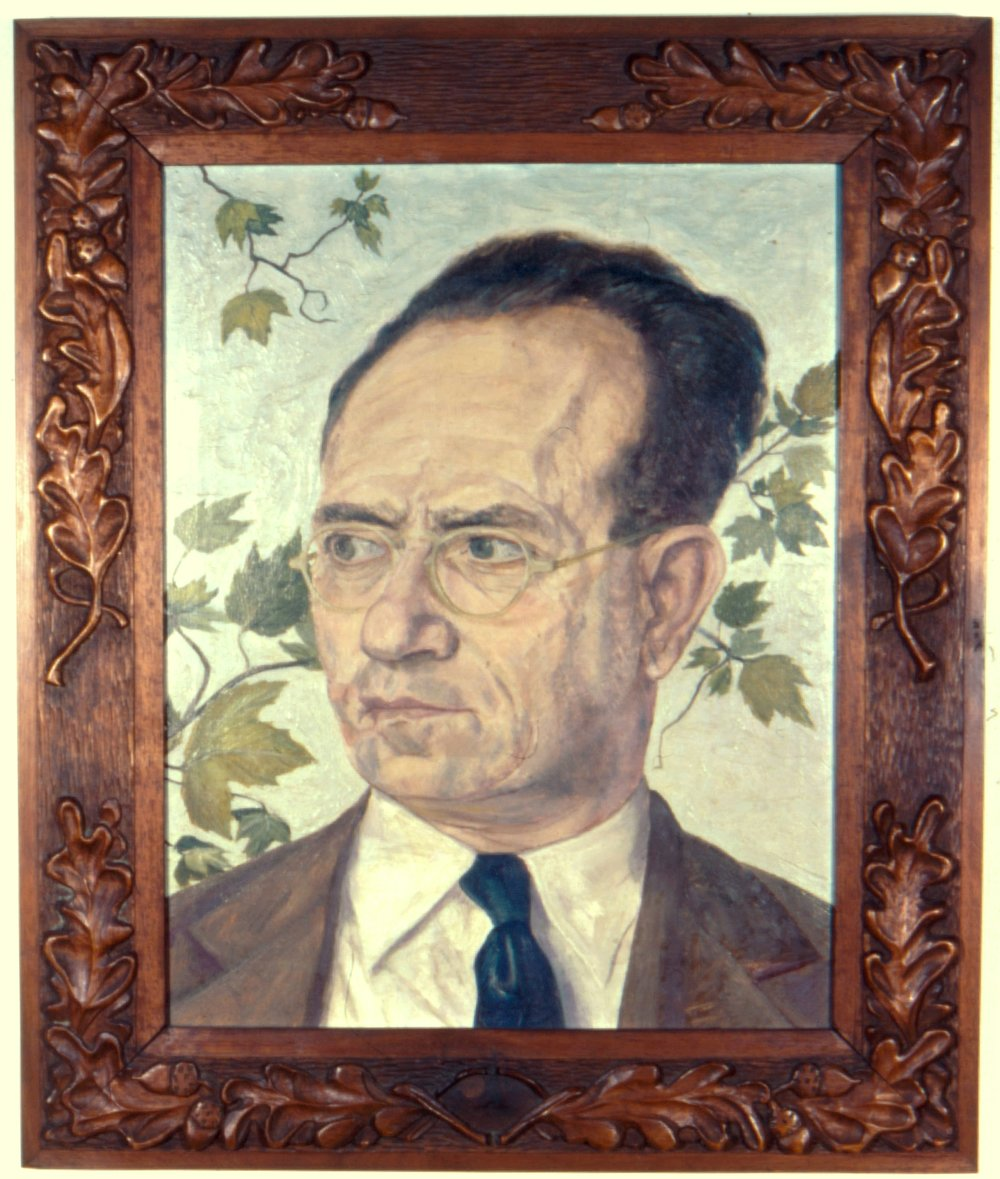 1. 1946, Portrait of Mr. Pearlstein - Father, Oil, 17x13, PPS715.jpg