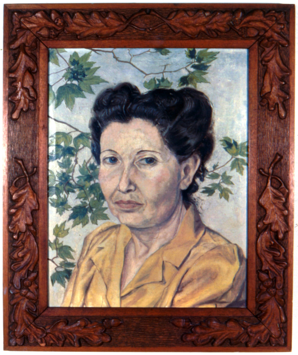 2. 1946, Portrait of Artist's Mother, oil, 17x13, PPS767.jpg
