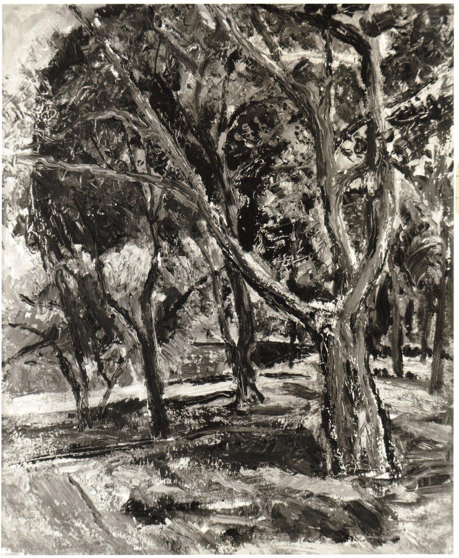 26. 1948, Spring Landscape, Oil on board, 20x24, 1948.jpg