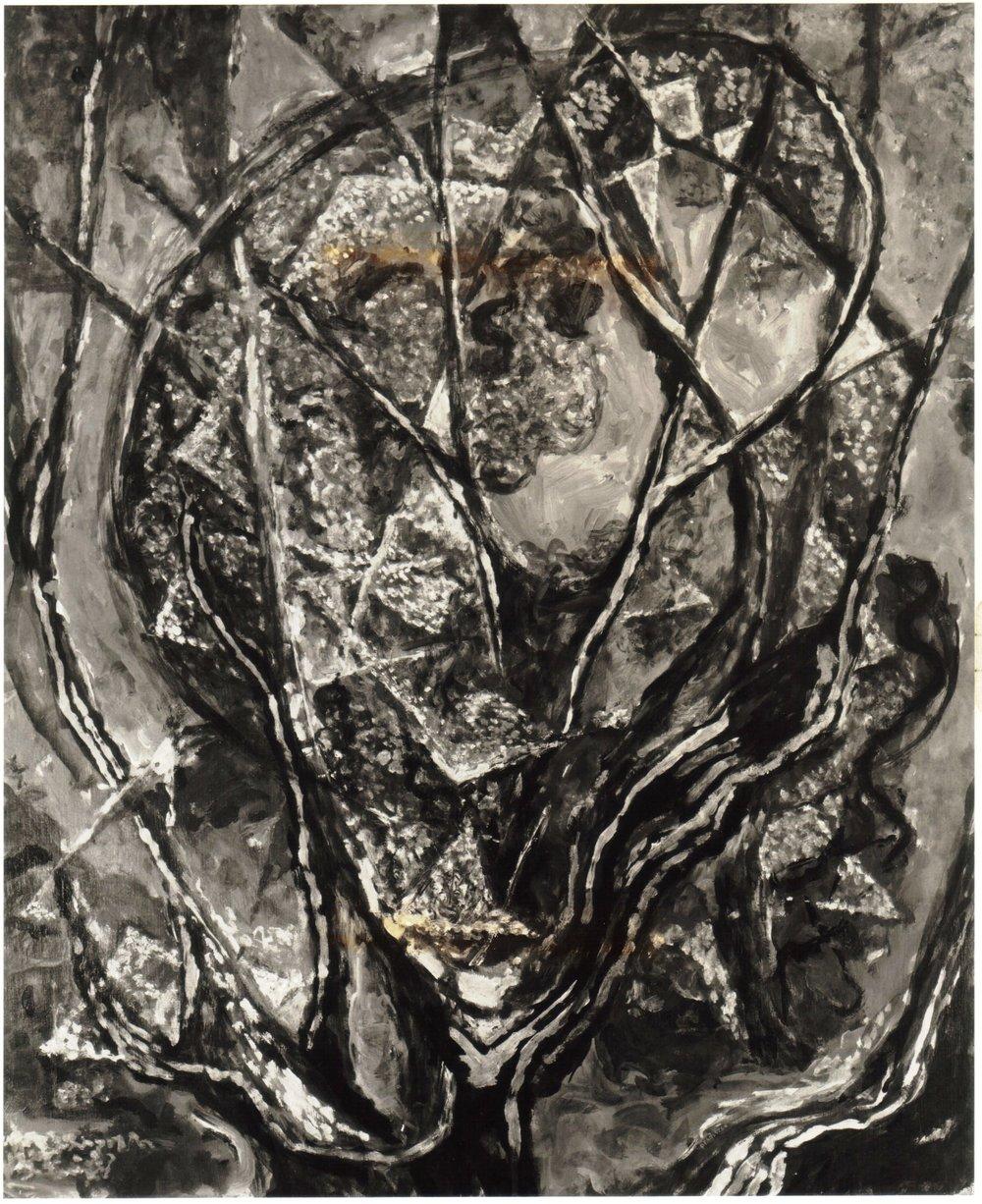 27. 1948, Tree Branches, Casein on Masonite, 30x25, 1948.jpg