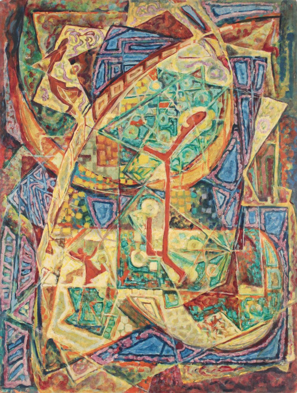 29. 1948-49 c, Ode to Joy, Casein on Masonite, 40x30, PPS 1571.JPG