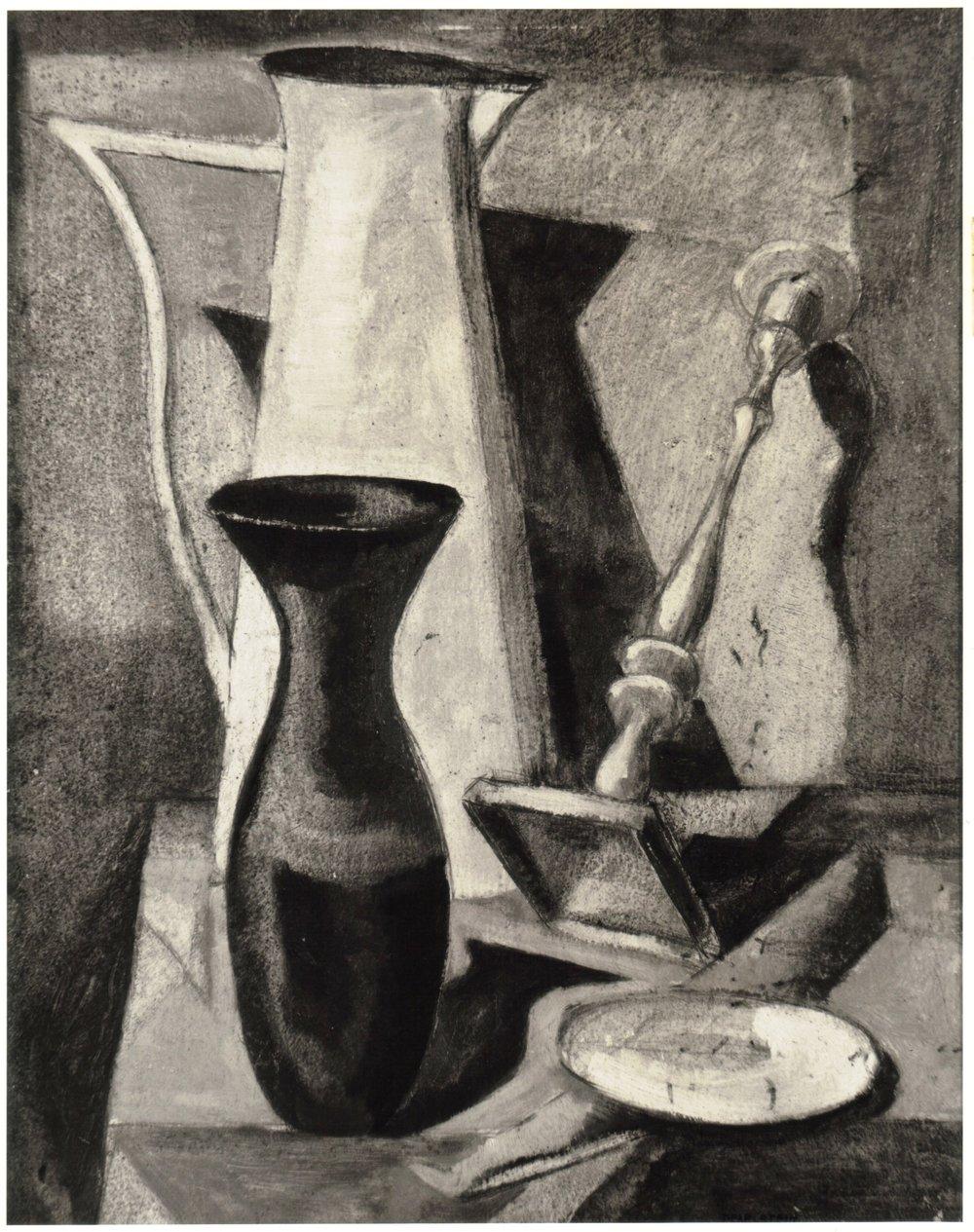 44. 1947, Still Life, Oil on board, 19.875x16.75, 1947.jpg
