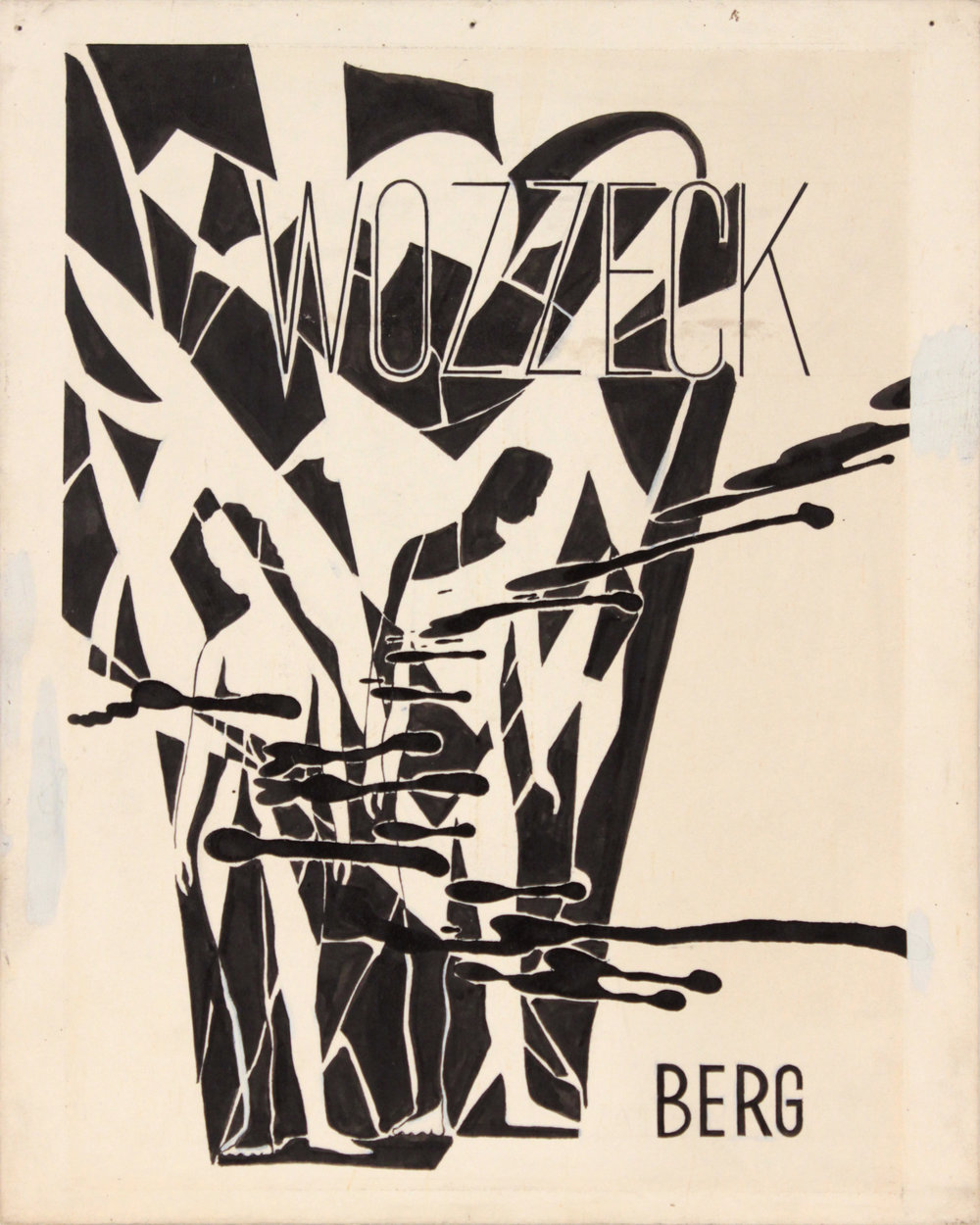 2. 1940's c, Image 49_Wozzeck Berg, Poster Paint on Board, 10x8, PPS 1423.JPG