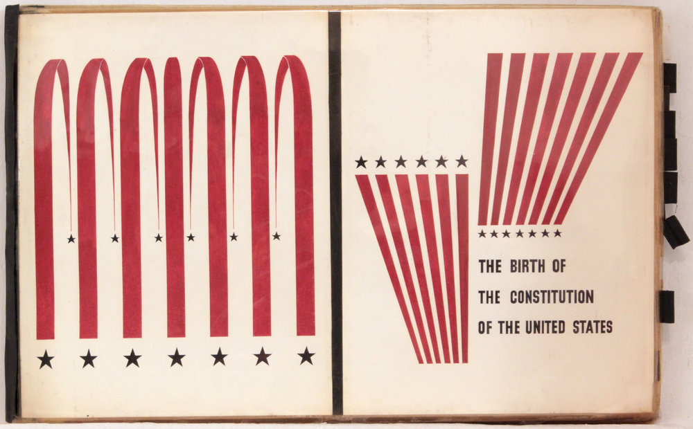 3. 1940's c, Image 42_Birth of the Constitution of the United States, Book Cover, 11 3:8x18, PPS 1427.JPG