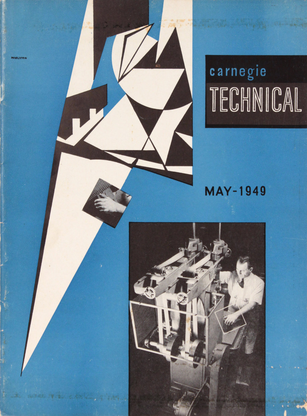 13. 1949, Carnegie Technical, Magazine Cover, 11.625x8.625, PPS 1579.JPG