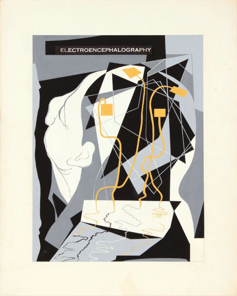 15. 1948-49 c, Image 44_Electroencephalography, Poster Paint on Paper, 15x12, PPS 1422.JPG