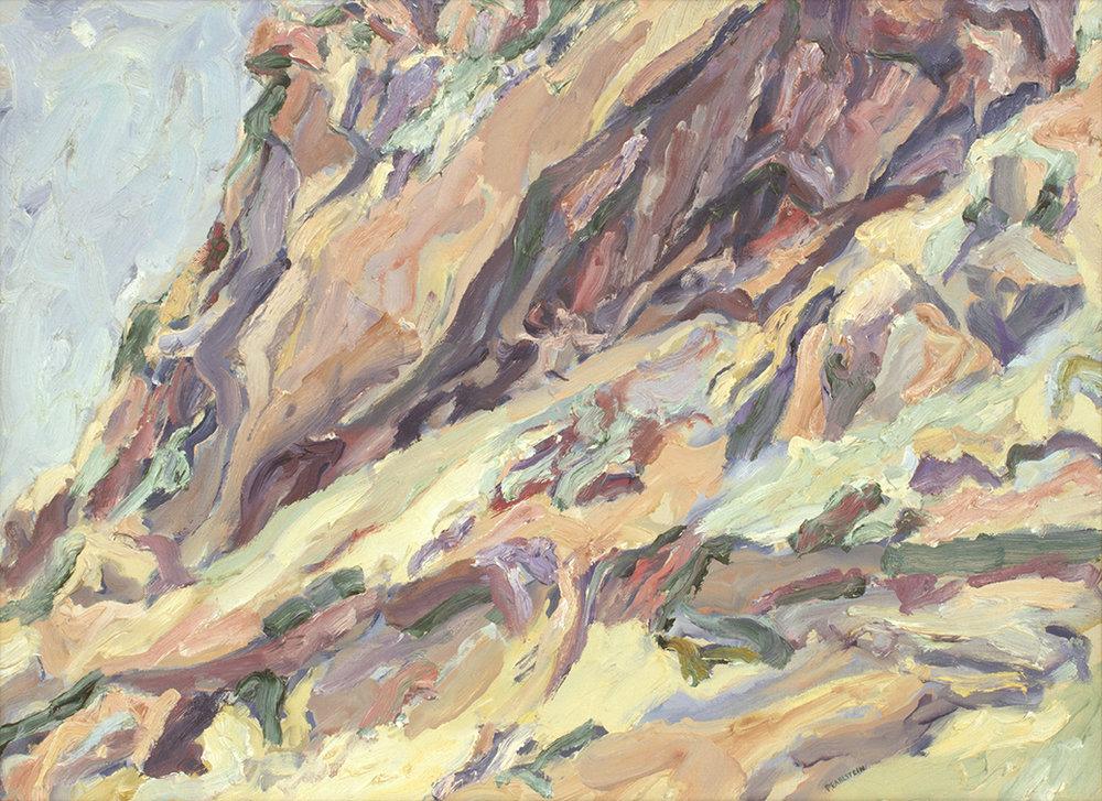 Roman Landscape (Positano Cliff) , 1959 15 1/2 x 21 1/2 Oil on canvas
