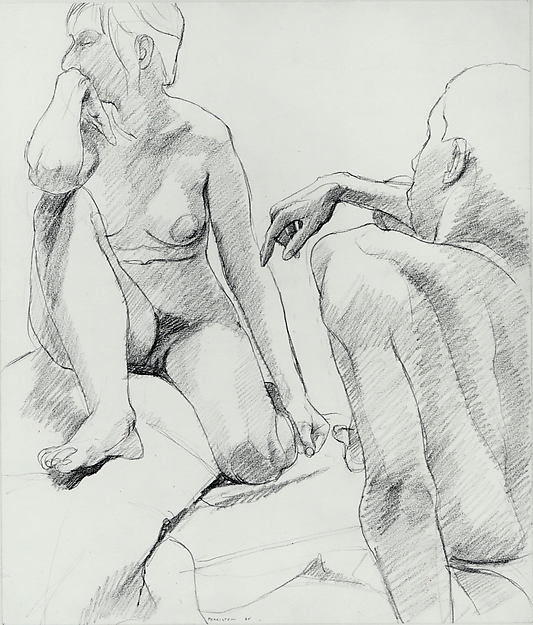 Untitled , 1964 graphite on paper 16 3/4 x 14  Collection of the Metropolitan Museum of Art