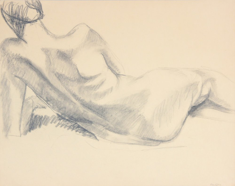 ND, Back of Reclining Nude, Graphite, 19x24, PPS 970.JPG