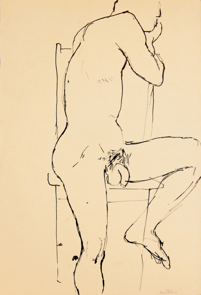 ND, Male Model Seated on Chair, Ink, 17.875x12, PPS 939.jpg