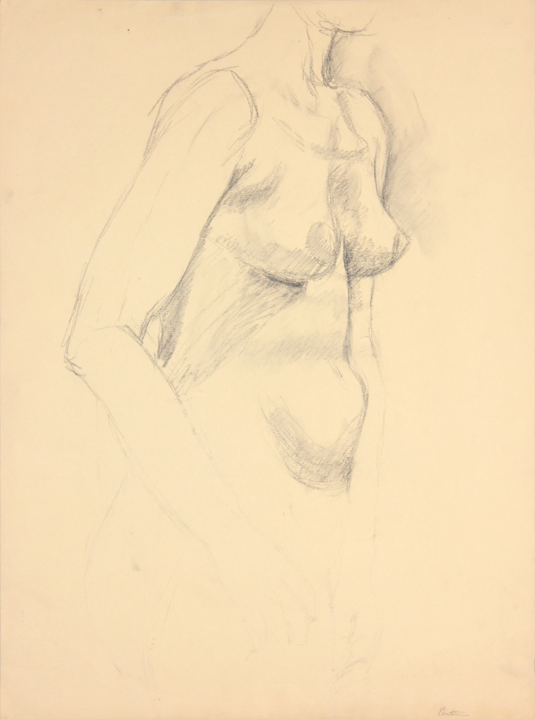 ND, Standing Female Model, Graphite, 24x17.875, PPS 965.JPG