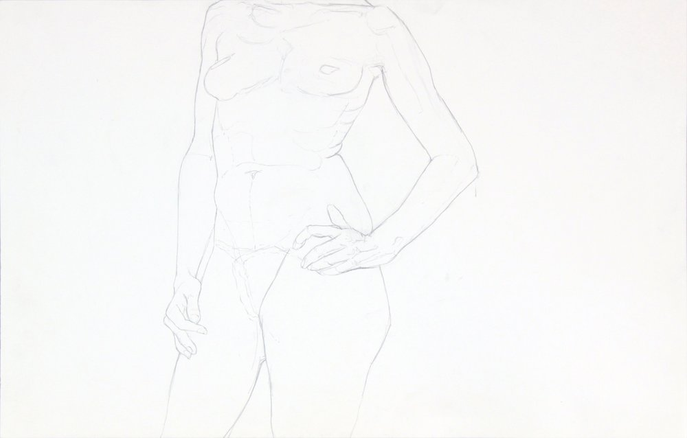 ND, Standing Female, Graphite, 14x22, PPS 958.JPG