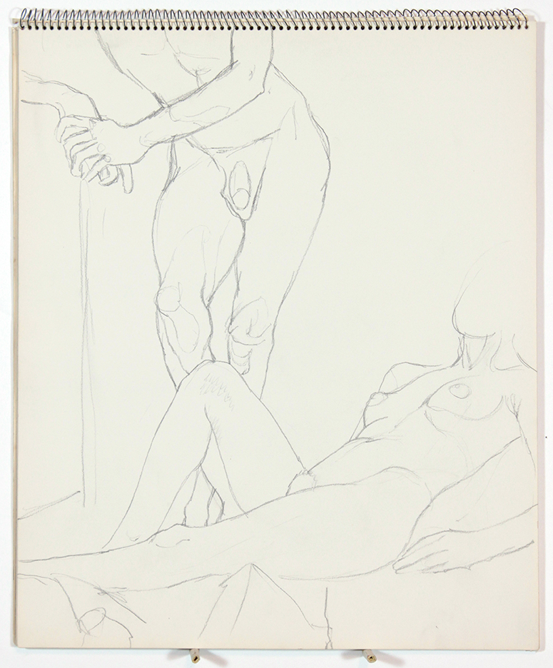 1963, Untitled, Graphite, 17x14, SB#7, PPS 1059.jpg