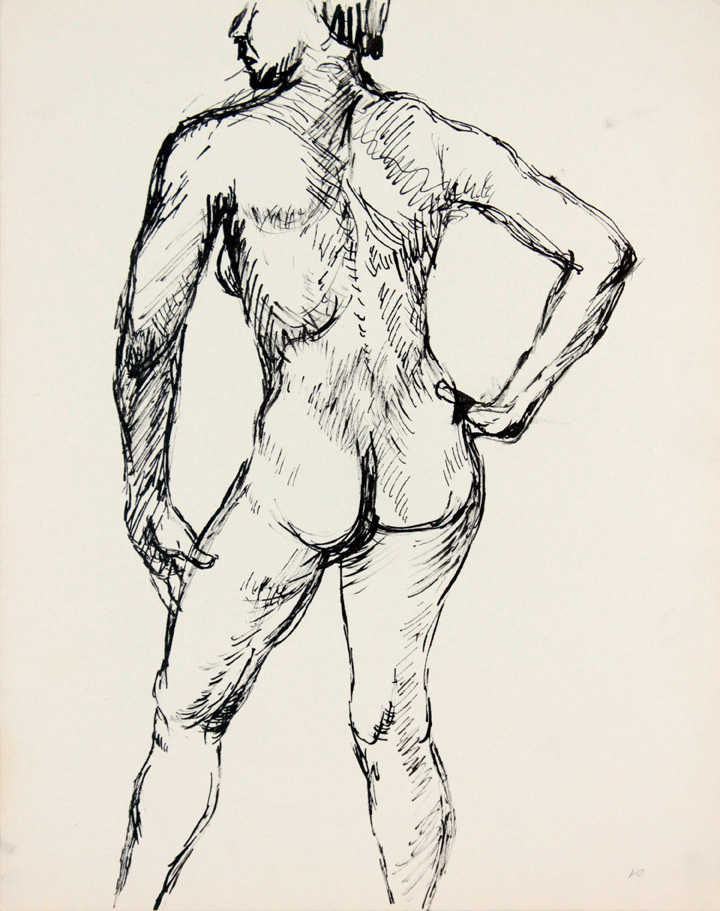 ND, Back of Female Nude, Ink, 13.875x10.875, PPS 872.jpg