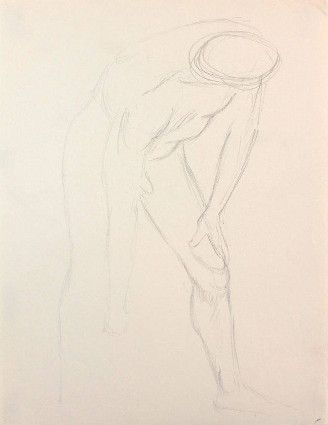 ND, Male Model Bending Forward, Pencil, 12x9, PPS 847.JPG