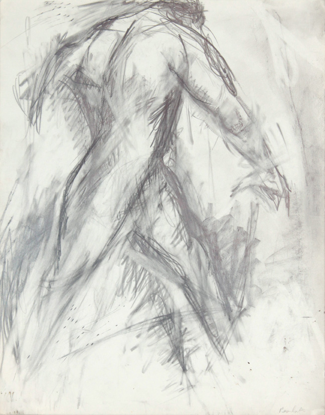 ND, Male Model Taking a Step, Pencil, 14x10.875, PPS 890.jpg