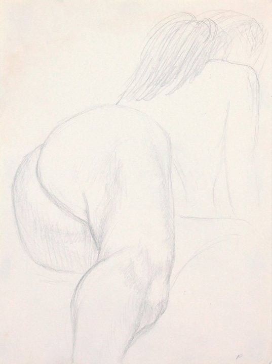 ND, Nude Leaning Forward, Pencil, 12x9, PPS 863.jpg