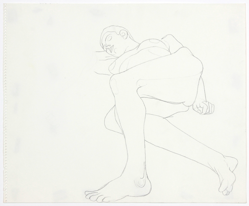 ND, Reclined Model in Studio, Pencil, 14x17, PPS 903.jpg