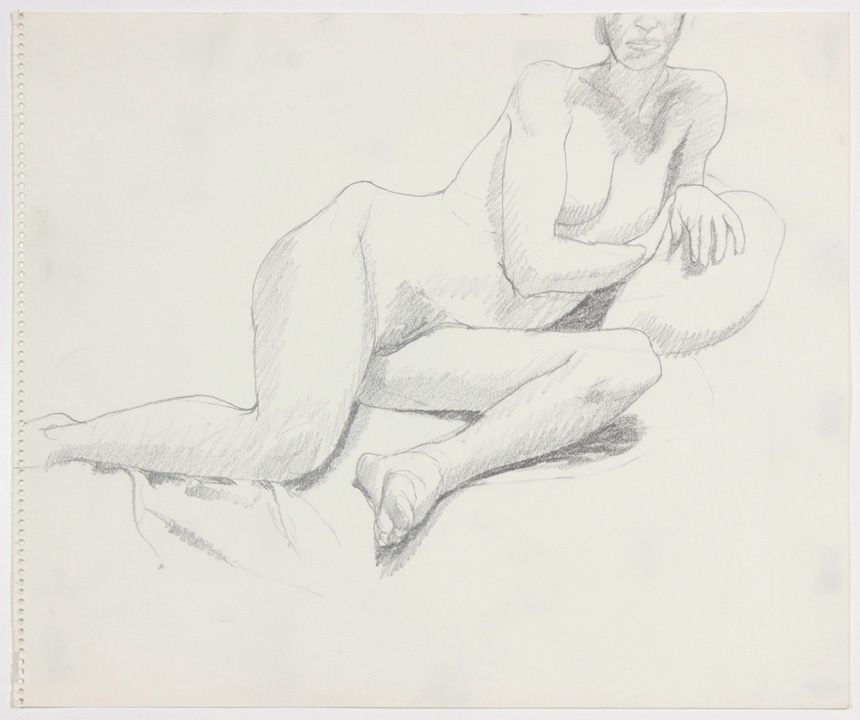 ND, Reclining Female, Pencil, 14x17, PPS 883.jpg