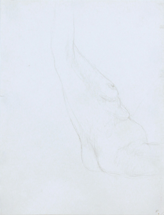 ND, Seated Nude with Arm Raised, Pencil, 12x9, PPS 862.jpg