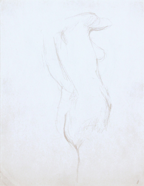 ND, Standing Female Model, Pencil, 12x9, PPS 856.jpg