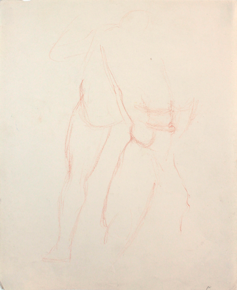 ND, Standing Male Nudes, conte crayon, 11x8.5, PPS 850.JPG