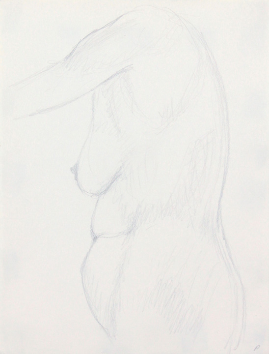 ND, Standing Nude, Pencil, 12x9, PPS 867.jpg