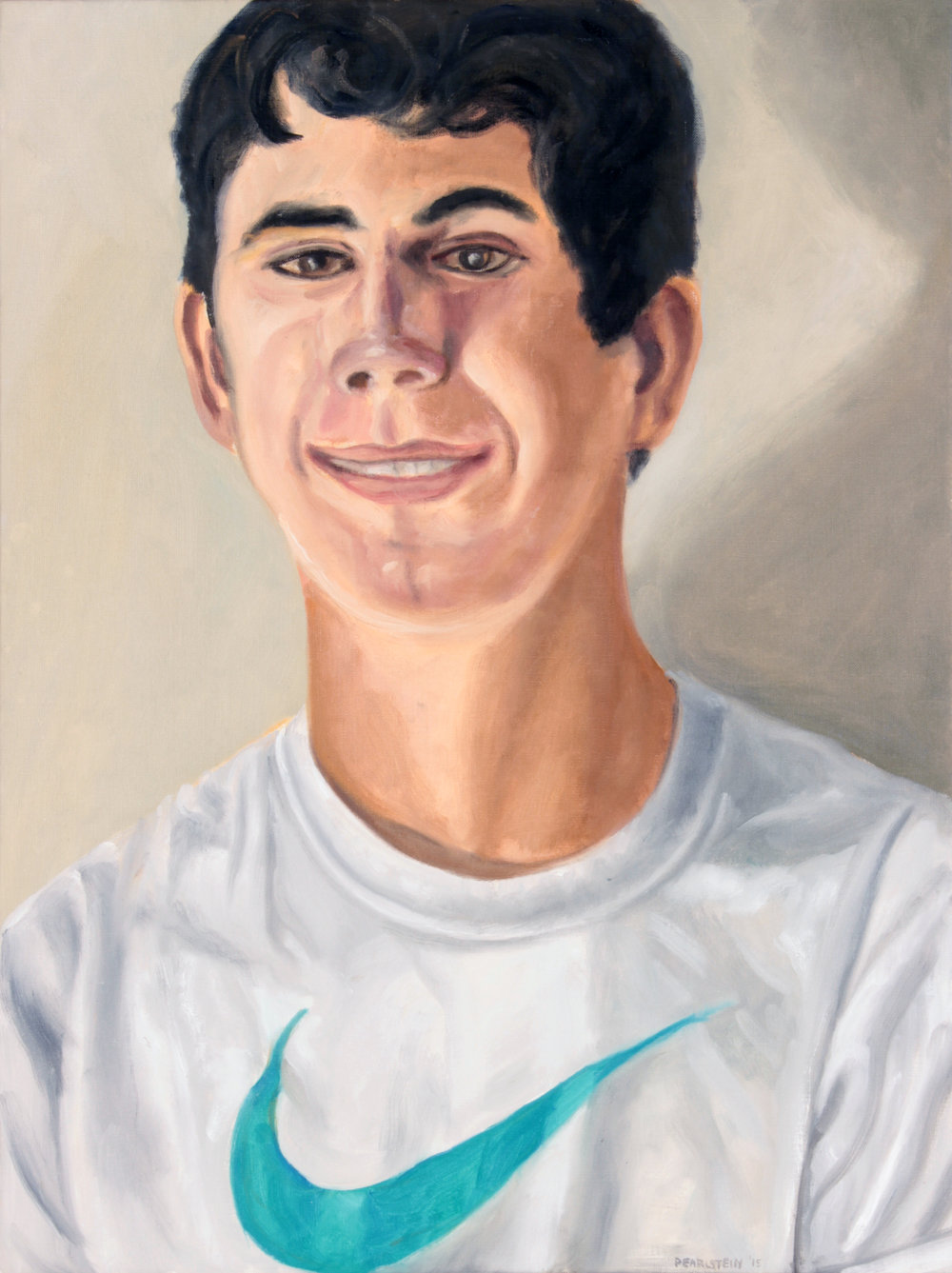 Portrait of Ezra Suldan , 2015 Oil on Canvas 24 x 18 in