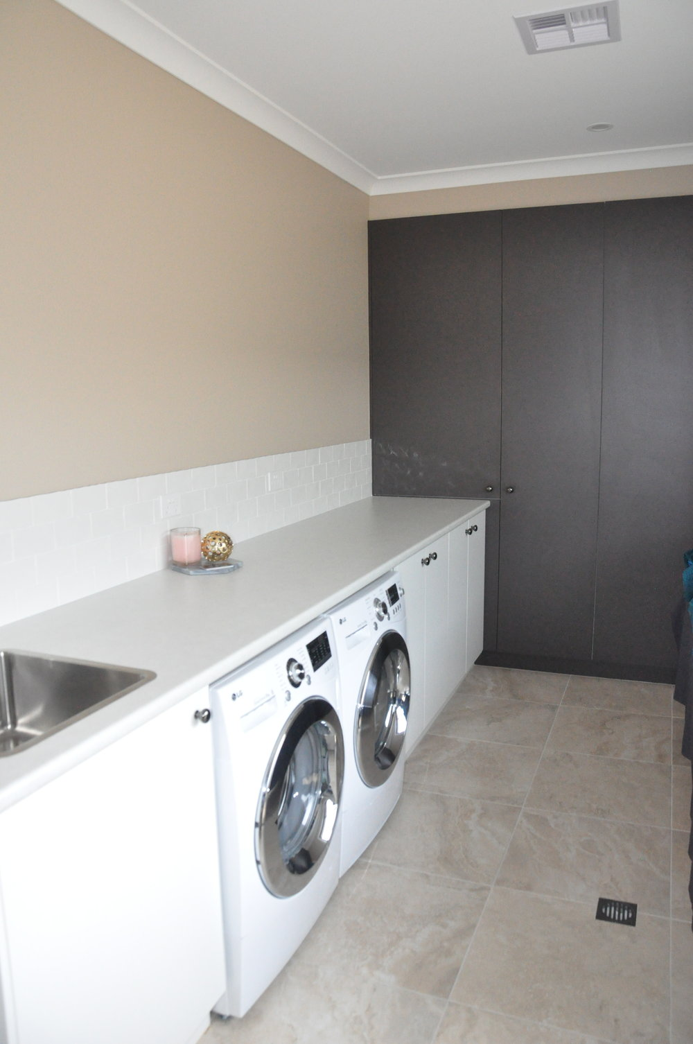 laundries — infinity kitchens & joinery - canberra kitchen