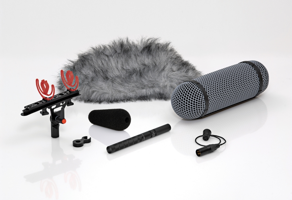 DPA 4017B-R Shotgun with Rycote Windshield