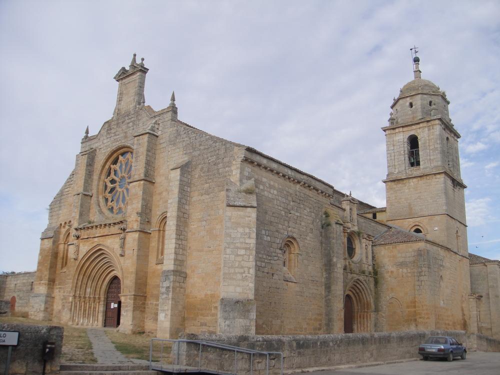 Ex-Colegiata de Santa Maria del Manzano in Castrojeriz