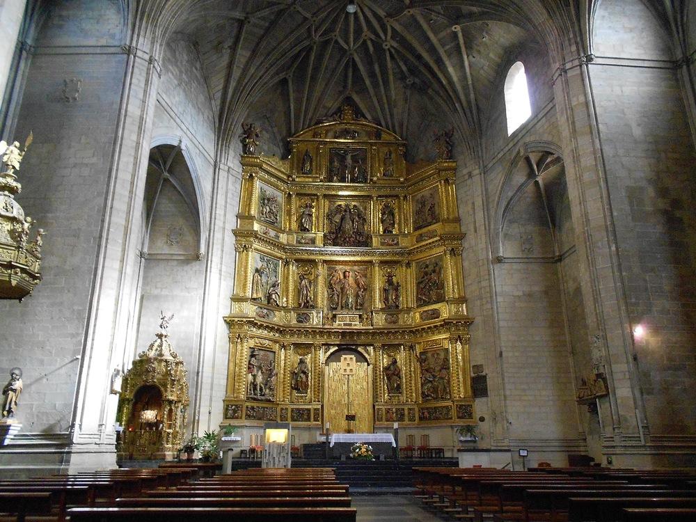 Iglesia de Santiago el Real in Logrono