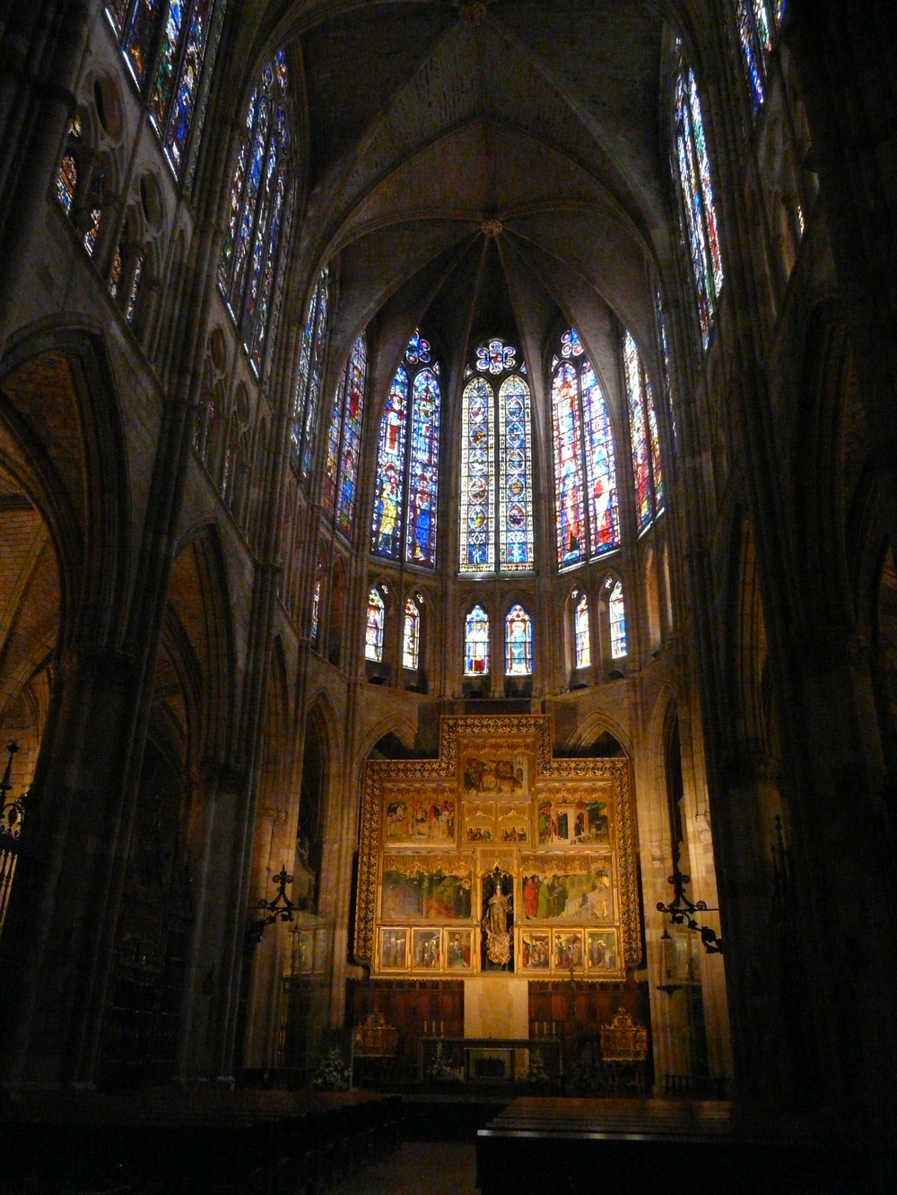 Cathedral Stained Glass in Leon