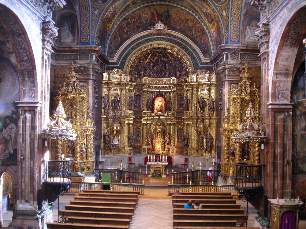 Cathedral in Los Arcos
