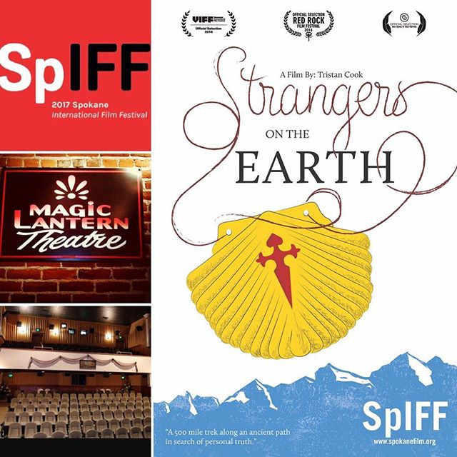 Looking forward to our #soldout screening tonight at the #Spokane #international #film #festival But if you can't make it, there will be an encore presentation tomorrow (Jan 29) at 6pm #caminodesantiago #pilgrimage #spiff #documentary