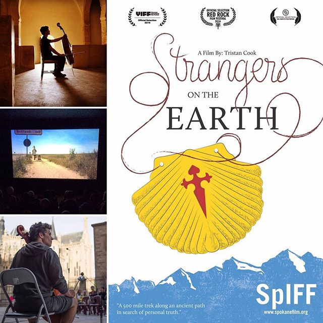 Thanks again to #SpIFF for the wonderful festival and to all the brave pilgrims who beat both the snow and the big game last Sunday to attend our added screening! #StrangersOnTheEarth #documentary #film