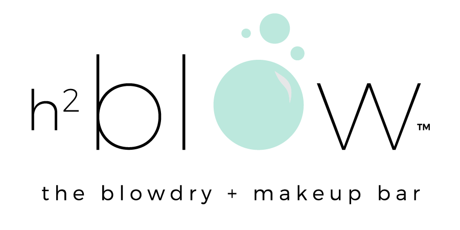 h2blow the blowdry + makeup bar