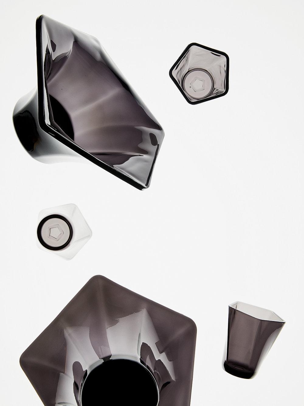 Pentatatonic Glassware