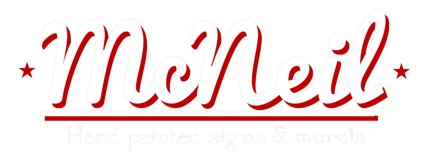 McNeil Signs- Hand Painted Signs & Murals