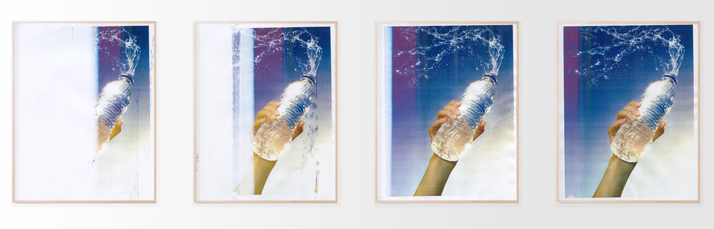 "Hydrate, four 17x22"" Pigment Prints, 2015"