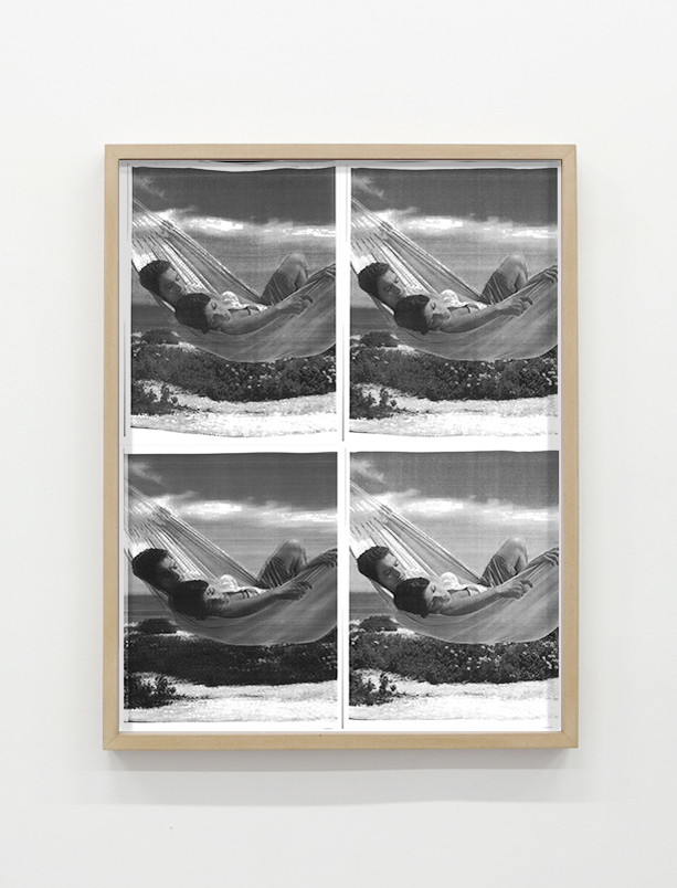 "Relax, four letter sized Laser Prints (17x22"" overall), 2015"