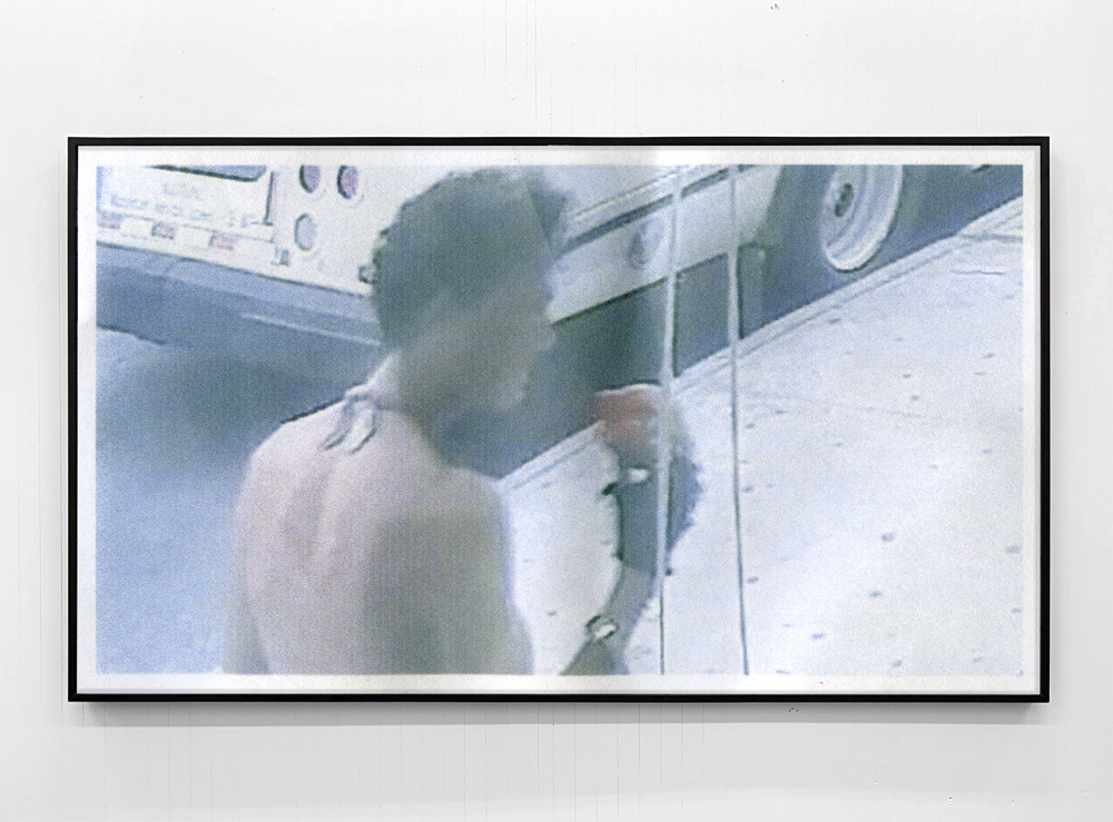 Shoplift, 2018, framed inkjet print, 32x56""
