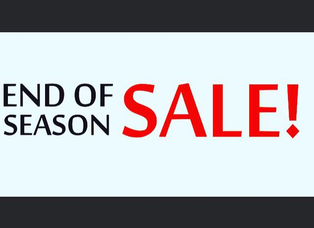 Click Above to Shop the End of Season Online SALE!