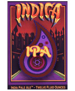 INDICA IPA    (ABV 6.5%)    Indica is a hoppy, full-bodied ale.  It has a higher than average alcohol content balanced by radical bittering from Colombus hops, then dry hopped with generous amounts of Willamette and Centennial hop flowers.