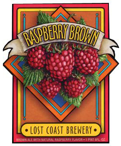 Raspberry Brown    (ABV 5.0%)    award-winning downtown brown ale, with it's rich CHOCOLATE malt flavour, is enhanced with an infusion of real raspberry.