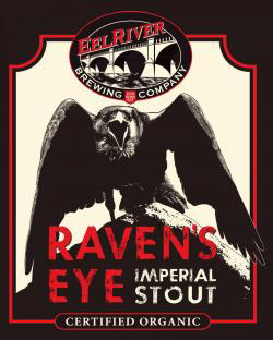 Raven's Eye Imperial Stout    (ABV 9.5%)    a rich, roasty brew with a deep espresso character, this russian imperial stout is strong, yet incredibly smooth. originally brewed for the imperial court in russia, this style stout is a warm festive drink made with the cold russian winters in mind.