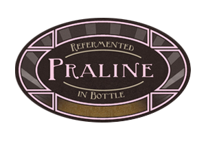 Praline    (ABV 6.0%)    A very special Belgian chocolate ale. Building on a Belgian stout base, it is brewed with organic vanilla pods, cacao nibs from Mexico and hazelnuts and with a creamy body, it is velvety, dark and seductive. Can you stop at one?