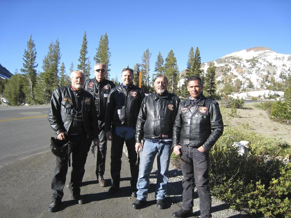 A Yosemite stop.