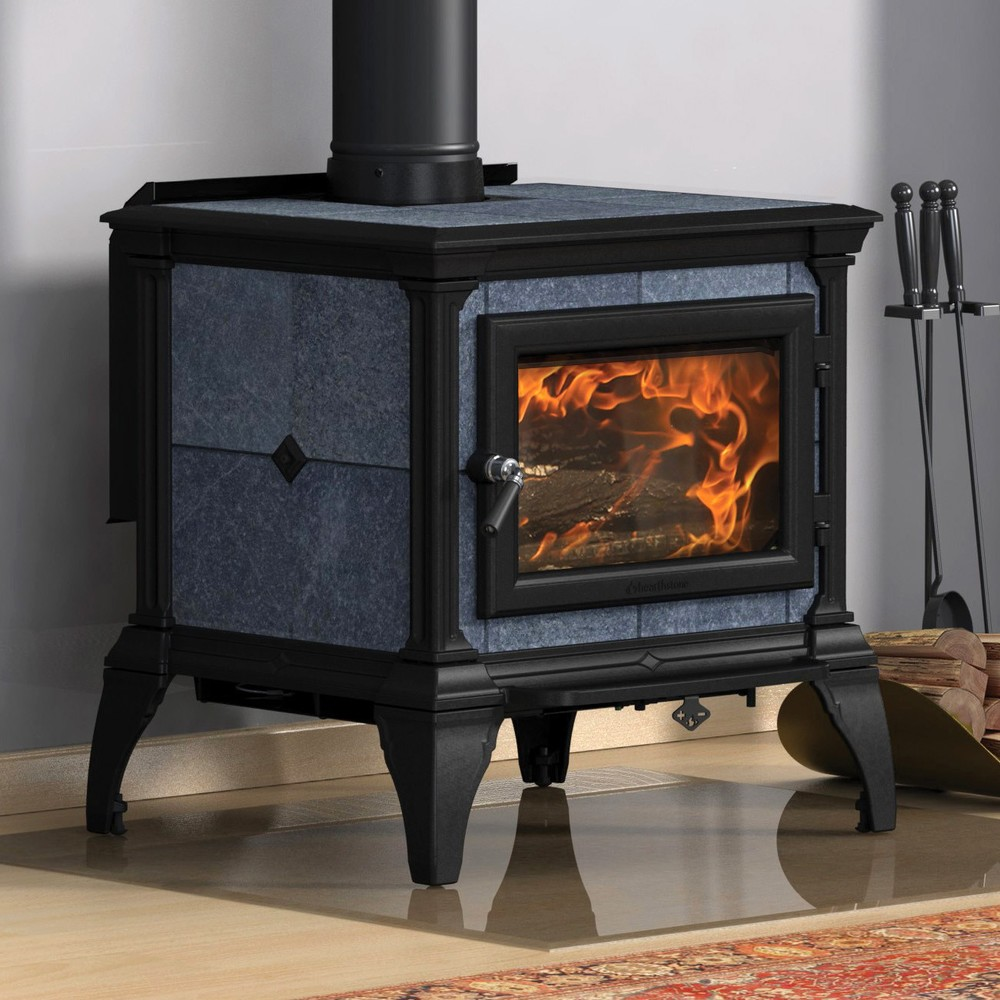 Hearthstone Castleton woodstove is the latest addition to a venerable family of quality soapstone stoves. Attractively sized and styled, it is for medium sized homes.  Very competitively priced in the marketplace.  Made in USA