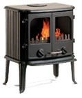 Morso 2110 woodstove is an excellent smaller to medium powered stove with exceptional quality and control.  Made in Denmark